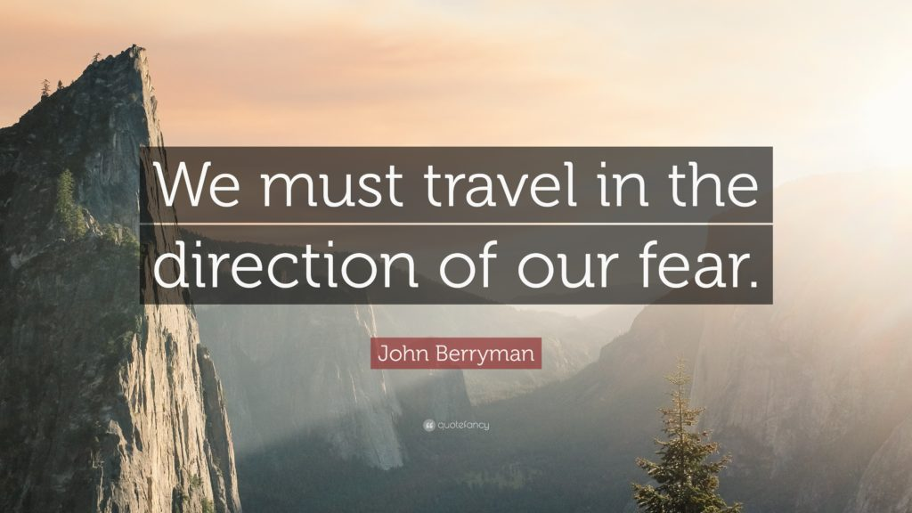 Fear of Traveling